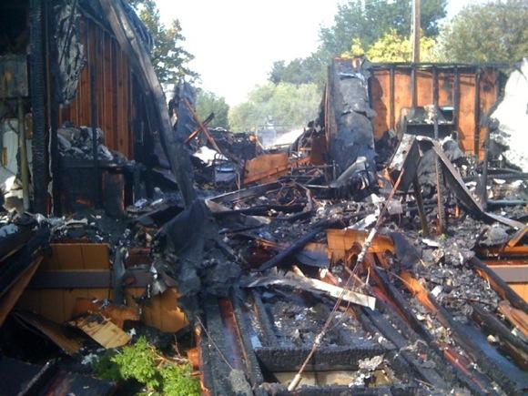 Beechwood School damage
