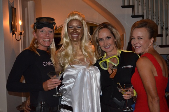 Bond girls at MPAEF party