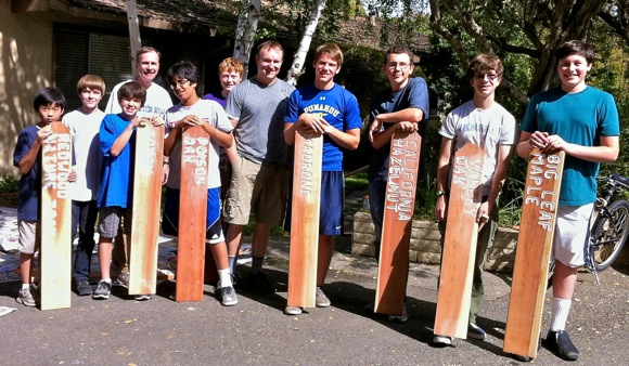 Menlo Park Boy Scout Troop 206 Eagle Scout project