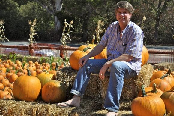 Gary Webb at Webb Ranch Pumpkin Patch in Menlo Park