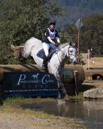 Hilary Bates riding at The Horse Park in Woodside