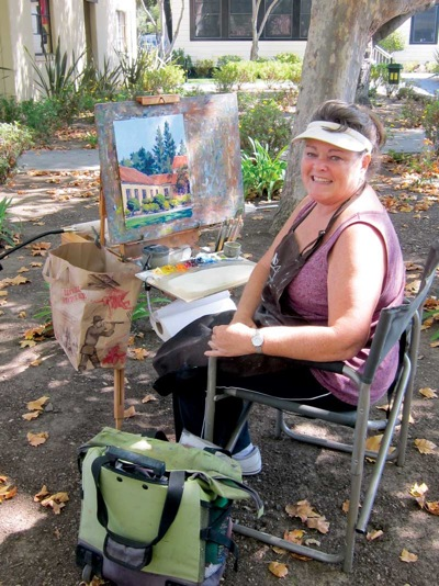 """Artists invited to paint """"Landscapes of Menlo"""""""
