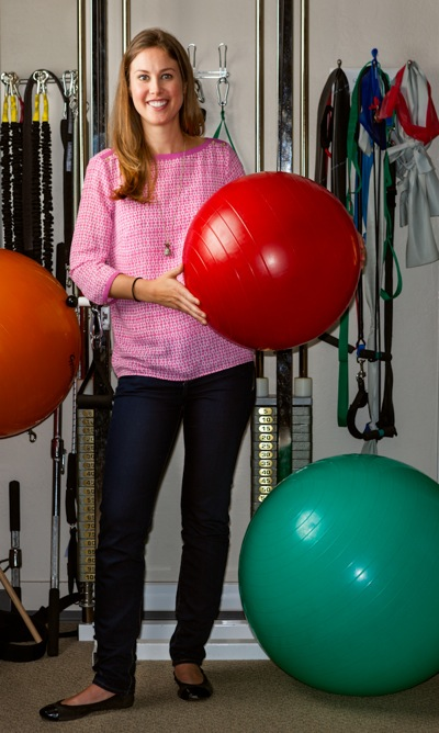 Physical therapist Katherine Graham at Tobias Physical Therapy in Menlo Park