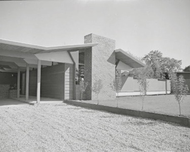 Eichler home in Menlo Park