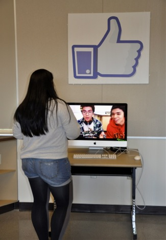 student video thanking Facebook for video production lab computers