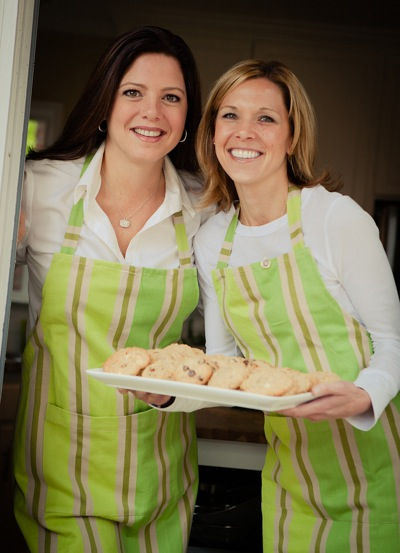 Heather Pietsch and Dani Muto, owners of Grandma Vonnie's Cookies