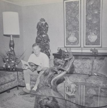 Then And Now: John Flegel U201con The Couchu201d At Flegelu0027s Furniture Store ...