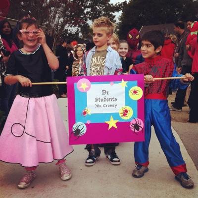 Laurel School students strut their Halloween stuff