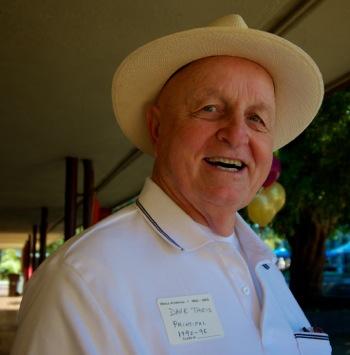 Former M-A principal Dave Theis