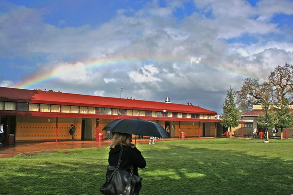 Menlo Atherton High School photographed by Betsy Sergeant Snow