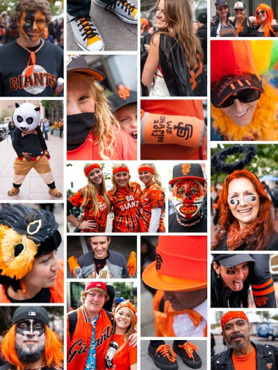 Photos of San Francisco Giants fans by Scott R. Kline (c) 2012