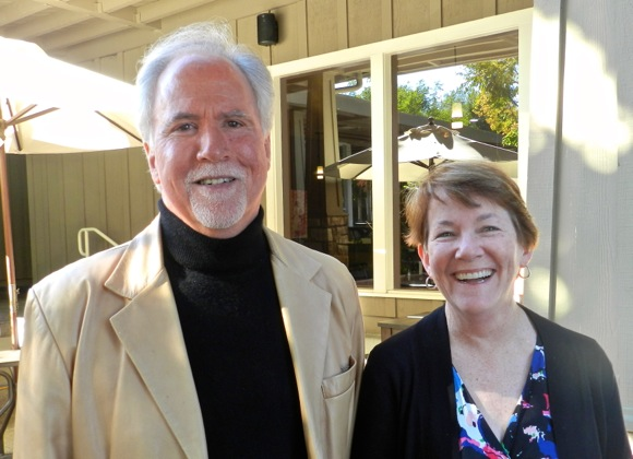 Then and now: Alice MacCorkle and Greg Burns, still laughing after all these years