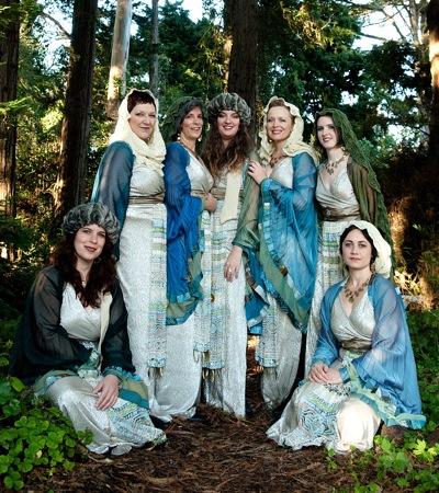 Kitka women's ensemble performs at St. Bede's in Menlo Park on Dec. 2