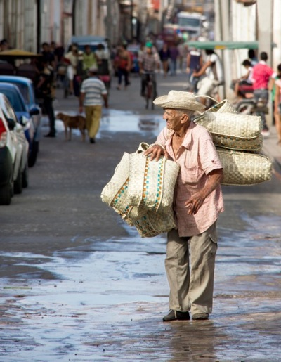 Basket Seller by Ann Eddington