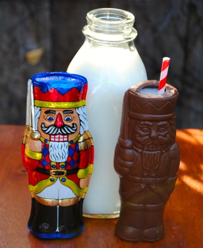 Chocolate Nutcracker Milk