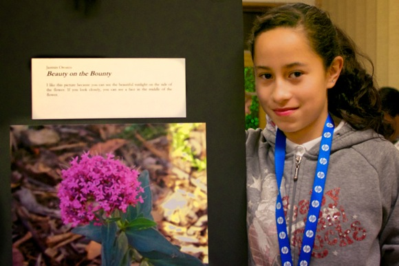 Cesar Chavez Academy students discover photography with support of HP and Citizen School