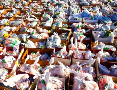 M-A annual canned food drive collects almost 70,000 cans and helps feed over 400 families in the community