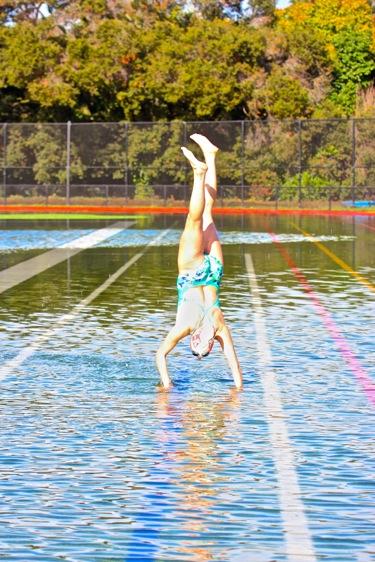 M-A football underwater