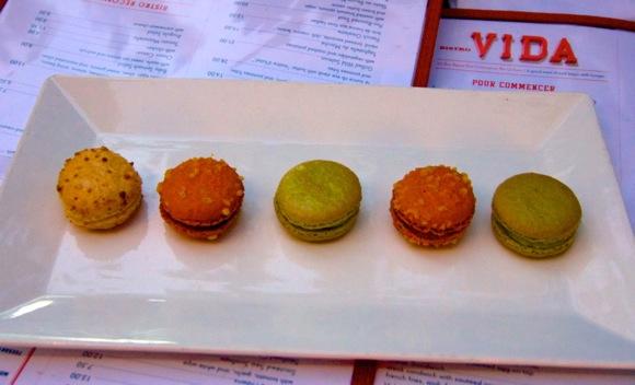 Authentic macaroons become signature dish at Bistro Vida in Menlo Park