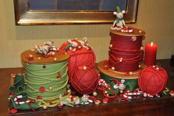 cake created by Studio Cake in Menlo Par