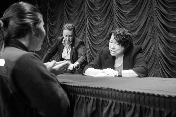 Spotted: Supreme Court Justice Sonia Sotomayor at Kepler's book signing event