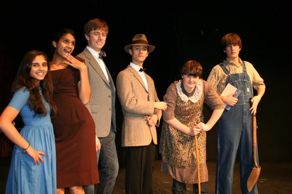 The 39 Steps presented by Menlo School Drama Department Jan. 31 – Feb. 2