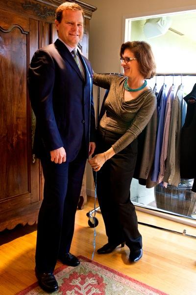 Trish Mitchell helps men make fashion sense of their wardrobe