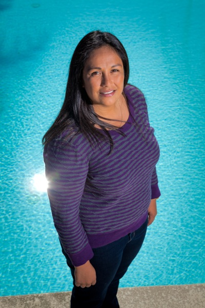 Brenda Villa photographed at Belle Haven Pool in Menlo Park by Scott R Kline (c) 2013