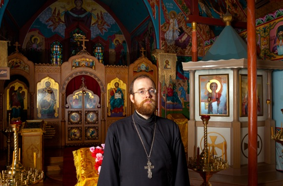Priest Hermogen Holste guides Russian Orthodox church in Menlo Park past its 60th anniversary