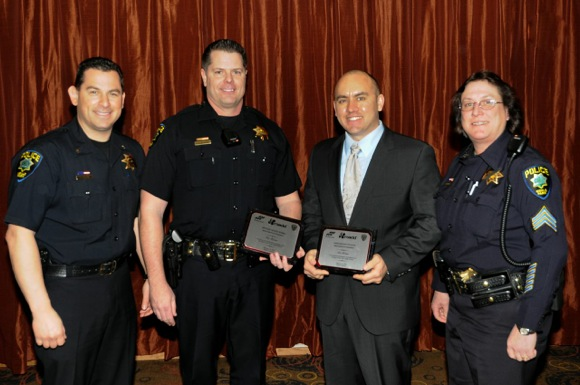 Menlo Park Police officers recognized for DUI arrests