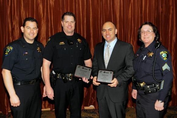 Menlo Park Police officers recognized for DUI arrests