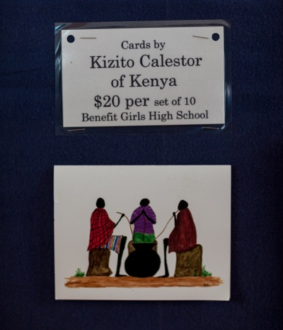 Margo McAuliffe founded Kenya Help to serve the educational needs of African women and children