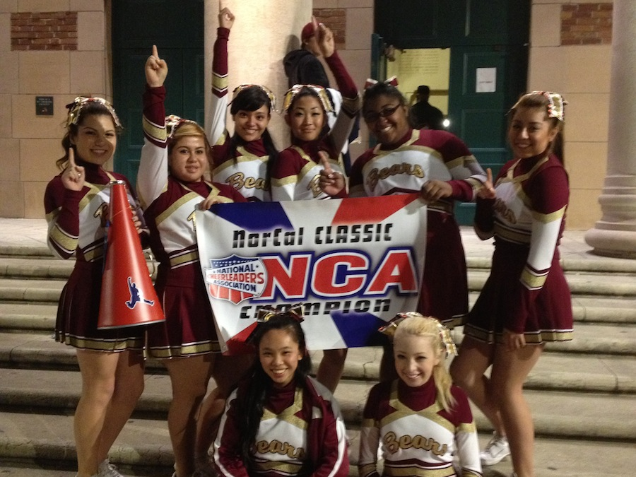 M-A cheerleading team wins first place at recent competition