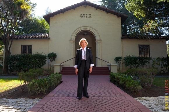 Atherton mayor Elizabeth Lewis