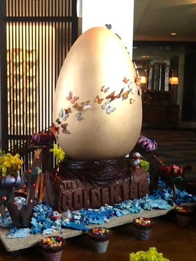 Golden Egg at Rosewood Sand Hill in Menlo Park