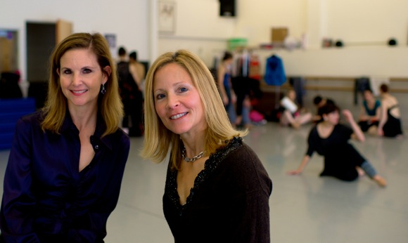 Lisa Shiveley and Heidi Magnussen, ED and Guild member of Menlowe Ballet