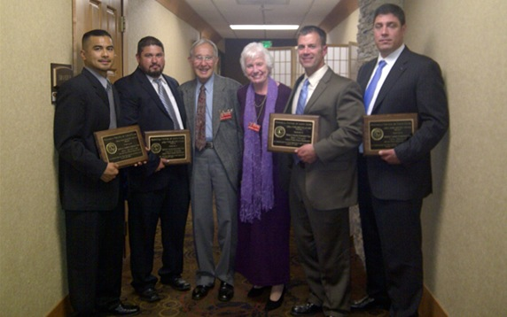 MPPD Narcotics Enforcement Team awarded Lions Club Service Award
