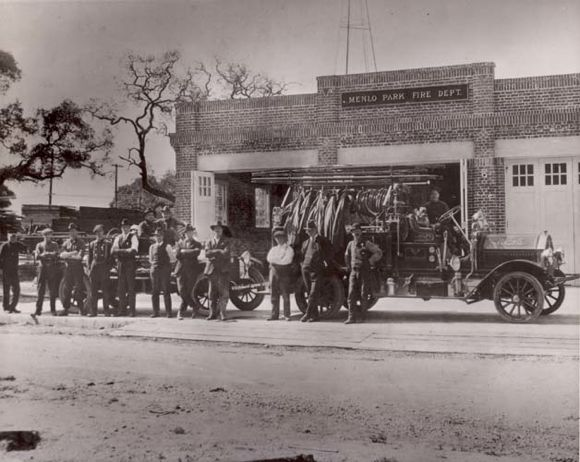 Menlo Park Firefighters circa 1920s