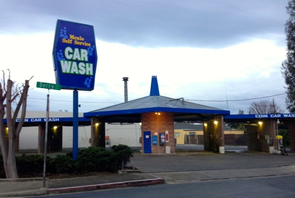Then and now: Self-service car wash once site of Menlo Park Hotel