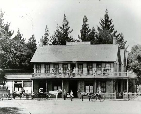 Menlo Park Hotel circa 1899