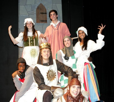 Menlo School present Monty Python's Spamalot outdoors the first two weekends of May