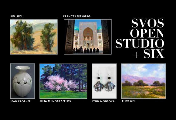 Local artists combine for group exhibit in Menlo Park during Silicon Valley Open Studios