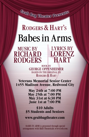 Grab Bag Theater performs Rodgers & Hart musical Babes in Arms over two weekends