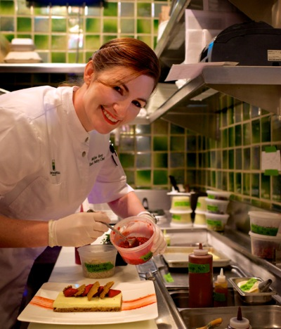 Rosewood Sand Hill pastry chef Mellisa Root