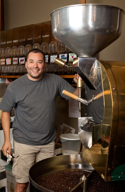 Oscar Nunez of High Note Coffee
