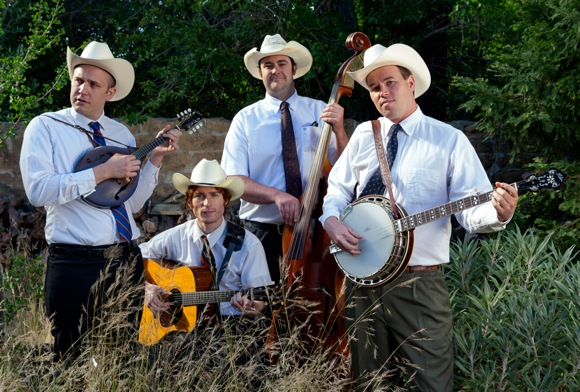 Bluegrass band Windy Hill photographed by Scott R. Kline