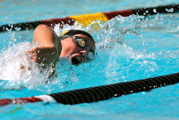 Coach's daughter Brooke Stenstrom looks forward to successful swimming career