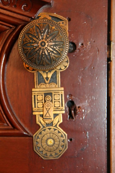 Jewel door handles