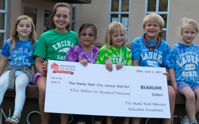 MPAEF grants record $3.6 million to Menlo Park City School District
