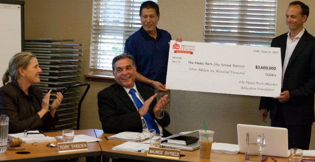 MPAEF grants record $3.6 million to Menlo Park City School District